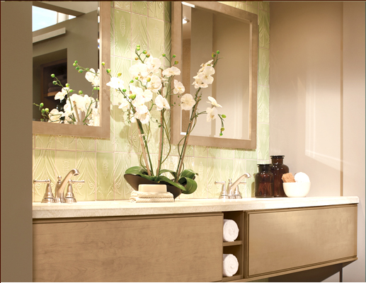 Bathroom Cabinets at our Rockland and Orange County NY Showroom