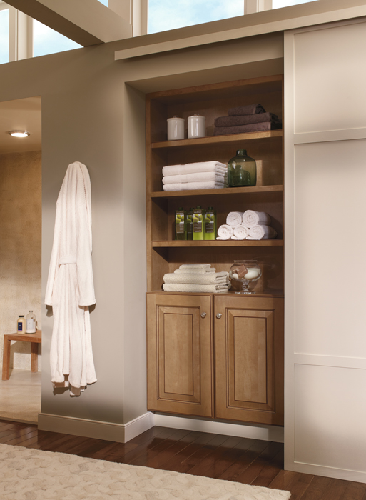 Large bathroom vanity selection – R & S Cabinets