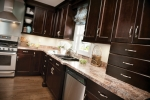 Complementary kitchen cabinets illustration at our Orange County NY Showroom