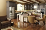 Kitchen cabinets with a furniture feel